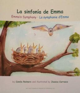 Libro trilingüe en inglés, francés y español